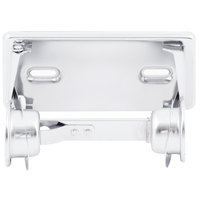 San Jamar R200XC Locking Single Roll Toilet Tissue Dispenser - Chrome