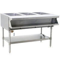 Eagle Group SHT3 Steam Table - Three Pan - Sealed Well, 120V