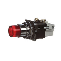 Hobart 00-975710 Illum, Red Push Button, 24Vdc