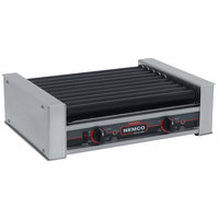 Nemco 8027SX-220 Hot Dog Roller Grill with GripsIt Non-Stick Coating - 27 Hot Dog Capacity (220V)