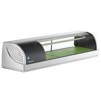 Hoshizaki HNC-120BA-L-SLH Curved Glass Refrigerated Sushi Display Case 47 inch - Left Side Compressor