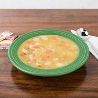 Homer Laughlin 451344 Fiesta Meadow 13.25 oz. China Rim Soup Bowl - 12/Case