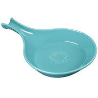 Homer Laughlin 1484107 Fiesta Turquoise 18 oz. China Fry Pan Server - 4/Case