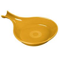 Homer Laughlin 1484342 Fiesta Daffodil 18 oz. China Fry Pan Server - 4/Case
