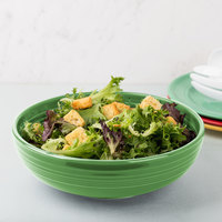 Homer Laughlin 1459344 Fiesta Meadow 68 oz. Large China Bistro Bowl - 4/Case