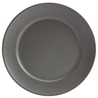 Homer Laughlin 120842000 Quarry 9 inch Gray Round China Plate - 24/Case