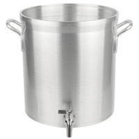 Vollrath 68631 Wear-Ever Classic Select 32 Qt. Heavy Duty Aluminum Stock Pot with Faucet