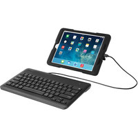 Kensington K72447WW Black Wired iPad Keyboard with Lightning Connector