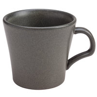 Homer Laughlin HL122242000 Quarry 14 oz. Gray China Mug - 12/Case