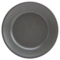 Homer Laughlin 120742000 Quarry 7 3/8 inch Gray Round China Plate - 36/Case