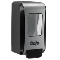 GOJO® 5271-06 FMX-20 2000 mL Black / Chrome Manual High Capacity Hand Soap Dispenser