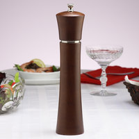 Chef Specialties 11880 Professional Series Customizable 11 inch Pueblo Pepper Mill