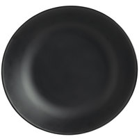 World Tableware DRI-16-OME Driftstone 115 oz. Onyx Organic Melamine Coupe Serving Bowl - 6/Case