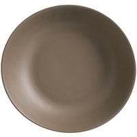 World Tableware DRI-16-SME Driftstone 115 oz. Sand Organic Melamine Coupe Serving Bowl - 6/Case