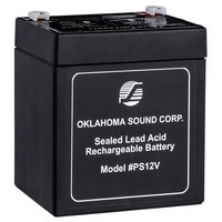 Oklahoma Sound PS12V Rechargeable Power Sonic Battery for Sound Lecterns - 12V, 5A