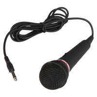 Oklahoma Sound MIC-1 Electret Condenser Unidirectional Handheld Microphone with 9' Cable