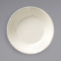 World Tableware FH-590MEL Farmhouse 130 oz. Ivory (American White) Organic Melamine Serving Bowl - 6/Case