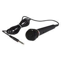 Oklahoma Sound MIC-2 Dynamic Unidirectional Handheld Microphone with 9' Cable