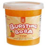 Bossen 7.26 lb. Pure25 Orange Bursting Boba - 4/Case