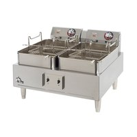 Star Max 530TF 30 Pound Twin Pot Commercial Countertop Deep Fryer 11,500W