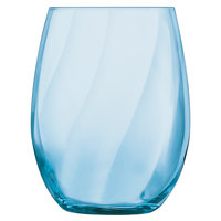 Chef & Sommelier N6675 Primary 12 oz. Blue Arpege Double Rocks / Old Fashioned Glass by Arc Cardinal - 24/Case