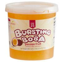 Bossen 7.26 lb. Pure25 Passion Fruit Bursting Boba - 4/Case