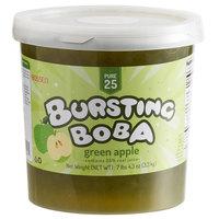 Bossen 7.26 lb. Pure25 Green Apple Bursting Boba - 4/Case