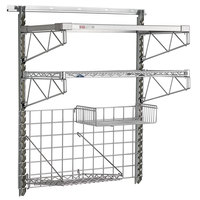 Metro SmartWall G3 Brite 36 inch Shelf Wall Kit