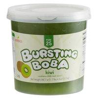 Bossen 7.26 lb. Pure25 Kiwi Bursting Boba - 4/Case