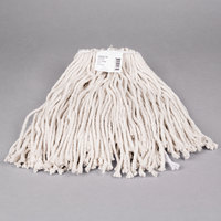 Continental Wilen A503316 16 oz. Cut End Natural Cotton Mop Head with Screw-On Band