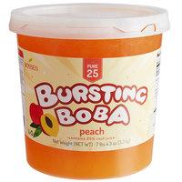 Bossen 7.26 lb. Pure25 Peach Bursting Boba - 4/Case