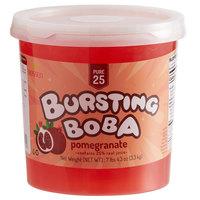 Bossen 7.26 lb. Pure25 Pomegranate Bursting Boba - 4/Case