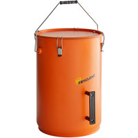 Fryclone 6 Gallon Orange Utility Pail