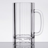 GET 00087-PC Plastic Plastic 20 oz. Beer Mug - 12/Case