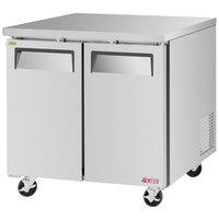 Turbo Air EUF-36-N E-line 36 3/8 inch Undercounter Freezer
