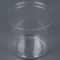 Bare by Solo DM24R-0090 24 oz. Clear Deli Container Recycled - 500/Case