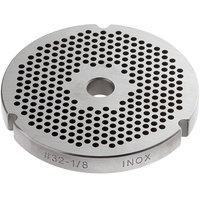 #32 Stainless Steel Flat Grinder Plate - 1/8 inch