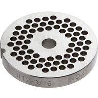 #12 Stainless Steel Flat Grinder Plate - 3/16 inch