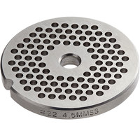 #22 Stainless Steel Flat Grinder Plate - 3/16 inch