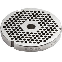 #32 Stainless Steel Flat Grinder Plate - 3/16 inch