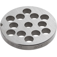 #22 Stainless Steel Flat Grinder Plate - 1/2 inch