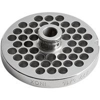 #22 Stainless Steel Hub Grinder Plate - 5/16 inch