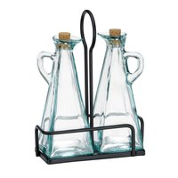 Tablecraft 617RBK Marbella Oil & Vinegar Metal Rack