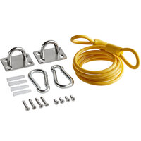 Regency Coiled 36 inch Restraining Cable for 48 inch Gas Connector