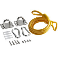 Regency Coiled 60 inch Restraining Cable for 72 inch Gas Connector