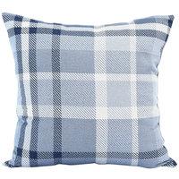 Astella TP24-FA33 Pacifica Tartan Midnight Lounge Throw Pillow