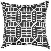 Astella TP18-FA54 Pacifica Roland Charcoal Accent Throw Pillow