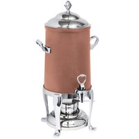 Eastern Tabletop 3201FSCP Freedom 1.5 Gallon Copper Coated Stainless Steel Coffee Urn with Fuel Holder