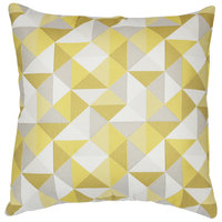 Astella TP24-FA13 Pacifica Ruskin Yellow Lounge Throw Pillow
