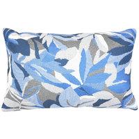 Astella TP12-FA23 Pacifica Dewey Blue Lumbar Throw Pillow